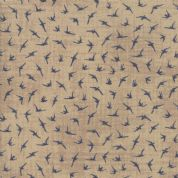 Moda - Ebb and Flow by Janet Clare - 6964 - Sea Birds on Taupe - 1481 24 - Cotton Fabric